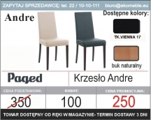 Paged - Krzesło Andre
